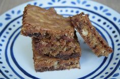 The best bakingblog! These blondies are fantastic!