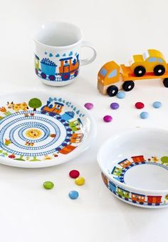 German made dishware for kids