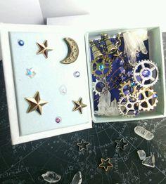 箱型鉱物標本~天体少年~