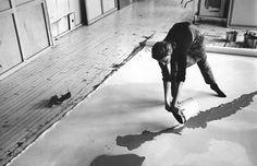 helen frankenthaler in her studio, 1969 (photo by ernst haas)
