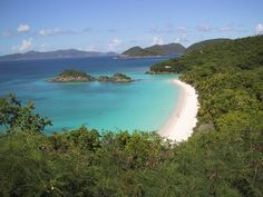 Turquoise water and gleaming white beaches at a national park? That's what you'll find if you venture outside of the US. The Virgin Islands National Park is home to one of the most beautiful beaches in the world, Trunk Bay. Virgin Islands Vacation, Us Virgin Islands, Dream Vacations, Vacation Spots, Vacation Destinations, Vacation Images, Vacation Ideas, Most Beautiful Beaches, Beautiful Places