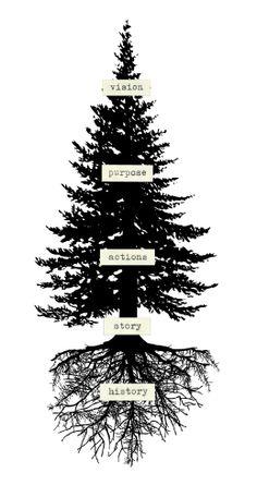 Doug fir with roots