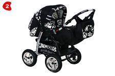 ★★★ Baby Pram Buggy Pushchair Stroller SPEED+ Car seat + Carrycot Poussette