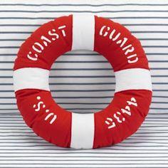 Coast Guard Pillow