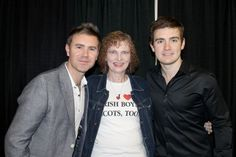 Neil, Emmet, and me at Lincoln meet & greet