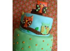 another cute owl cake