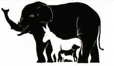 Hoeveel dieren tel jij in deze afbeelding: 6 is bovengemiddeld, maar is er bijna niemand die ze allemaal ziet! - Zelfmaak ideetjes