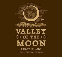 Valley of the Moon - Sonoma County - Pinot Blanc at Market Alley Wines, Monmouth IL