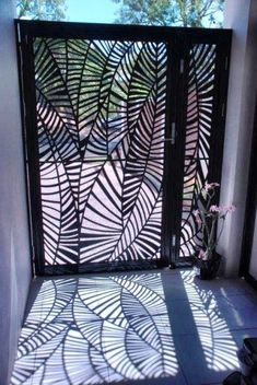 35 Smart And Stylish Garden Screening Ideas to to Transform .- 35 Smart And Stylish Garden Screening Ideas to to Transform Your Garden – 35 Smart And Stylish Garden Screening Ideas to to Transform Your Garden – - Laser Cut Screens, Laser Cut Panels, Tor Design, Fence Design, Garden Gates, Garden Art, Garden Screening, Screening Ideas, Bamboo Screening