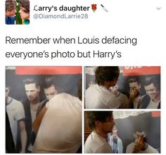 Louis loves his baby a lot