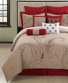 Corinth 10 Piece King Comforter Set