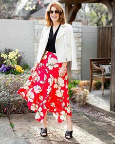 """7b7344311fc Today is the day that you can buy this gorgeous floral skirt (comes in a  dress too) and many other great pieces for spring at…"""""""