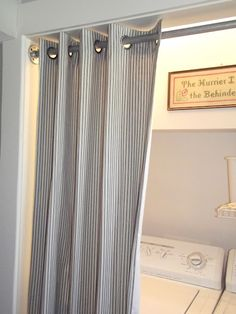 Ikea Panel Curtains As Closet Doors Could Be Used To Cover A Whole Wall Of Storage