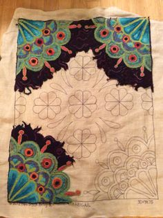 "Bea Brock pattern ""Abigail"" in progress..."