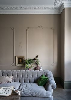 Farrow Ball, Farrow And Ball Paint, Farrow And Ball Living Room, Wall Exterior, Interior And Exterior, Interior Design, New Paint Colors, Sweet Home, Room Colors