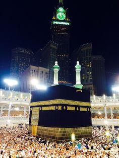 Kaaba, ZamZam Tower, Mekkah