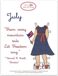 Lily & Thistle: Happy July - New Outfit of the Month
