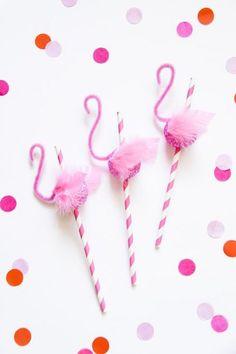 It's not a party until it's a flamingo party.