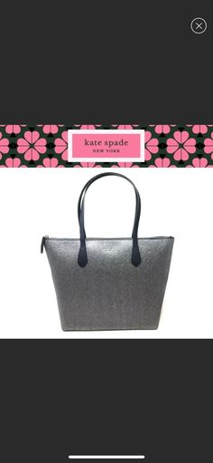 """Kate Spade Joeley Tote in Dusk Navy New with tags! Features:Smooth glitter, will not fall off Inside zip pocket, 2 slide pockets Zip closure Kate Spade lining Handles with 9"""" dropDimensions: 12"""" at the bottom, 16.5"""" at the top L x 11.5 """"(H) x 6"""" (D) Inside zip pocket, 2 slide pockets  Zip closure  Kate Spade lining  Handles with 9"""" drop MSRP $229 Kate Spade Totes, Kate Spade Tote Bag, Navy, Dusk, Tote Bags, Smooth, Glitter, Closure, Pockets"""