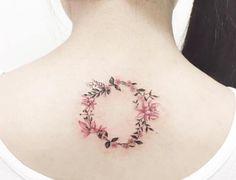 50 Beautiful Laurel Wreath Tattoo Designs and Meanings Trendy Tattoos, Mini Tattoos, Cute Tattoos, Tattoos For Guys, Tatoos, Flower Tattoos, Butterfly Tattoos, Small Tattoos, Diy Tattoo