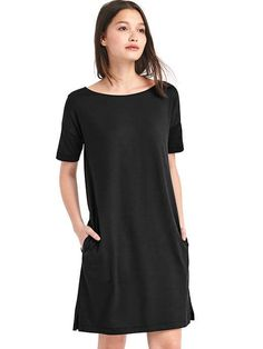 Softspun short sleeve t-shirt dress | Gap