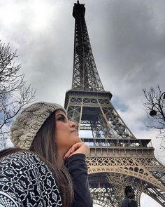 Ah os sonhos... Torre Eiffel check! Obrigada Senhor! #paris #honeymoon #travel #torreeiffel by melfoeppel Eiffel_Tower #France