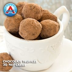 Our gluten-free chocolate truffles make the perfect holiday dessert--with no guilt!