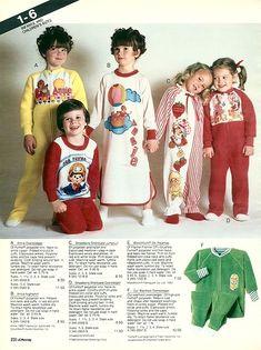 JC Penney Children's Pajamas Christmas Catalog Page 90s Childhood, My Childhood Memories, Sweet Memories, Nostalgia, Kids Pjs, Cartoon Photo, Remember The Time, Kids Growing Up, Christmas Catalogs
