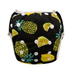 Cool  One Size Printed Swim Diaper Fruit Pattern SW13