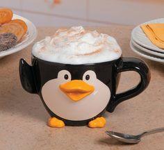 Jumbo Ceramic Penguin Mug Party Supplies Canada - Open A Party😍😍😍