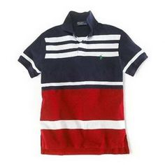 Polo Ralph Laure Men's Classic-Fit Striped T Polo Tee Shirts, Striped Polo Shirt, T Shirt, Polo Ralph Lauren Outlet, Ralph Lauren Style, Cheap Shirts, My Guy, Mens Fashion, Guy Fashion