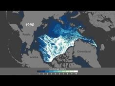 This video shows the alarming reduction in the Arctic's oldest ice | World Economic Forum