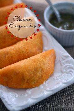 Chicken Empanadas // Empanadas de Pollo