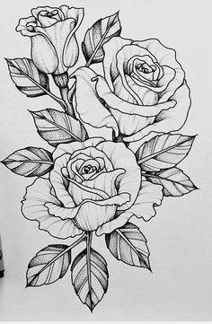 Should add this piece to my skull n rose tattoo .-Sollte dieses Stück zu meinem Schädel n Rose Tattoo hinzufügen … Tatowierung – flower tattoos designs This piece should go with my skull n rose tattoo add tattoo - Tattoo Design Drawings, Flower Tattoo Designs, Art Drawings, Tattoo Flowers, Rose Drawings, Rose Drawing Tattoo, Tattoo Roses, Daisies Tattoo, Rose Tattoo Leg