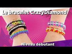 [Tuto Cra-z-Loom] Le bracelet CrazyDiamond