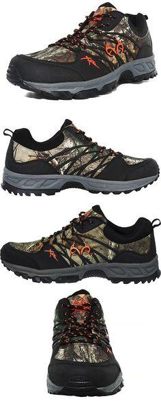 c8c2af8da6cb Mens 181392  New Mens Realtree Outfitters Bobcat Camo Hiking Shoes - 10 -   70 -