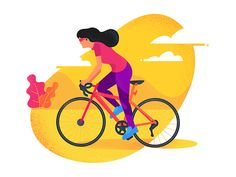 Great work from a designer in the Dribbble community; your best resource to discover and connect with designers worldwide. Tweety, Cycling, Disney Characters, Fictional Characters, Illustration, Image, Design, Biking, Bicycling
