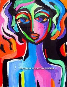 fauve portrait. Joker, Artists, Portrait, Painting, Fictional Characters, Design, Headshot Photography, Painting Art