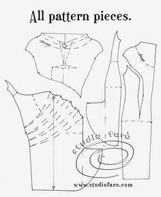Pattern Puzzle - Cowl Draped Dress