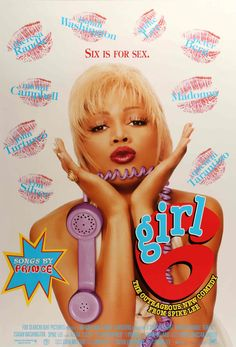 "Girl 6 (1996) Vintage Movie Poster - 27"" x 40"""