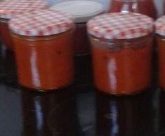 Rezept Zwiebel-Paprika -Relish von Ravengirl - Rezept der Kategorie Saucen/Dips/Brotaufstriche