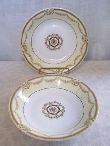 """antique theodore haviland limoges pink rose swags soup bowls set of 2 - Categoria: Avisos Clasificados Gratis  Item Condition: not specifiedAntique Theodore Haviland Limoges Pink Rose Swags Soup Bowls Set of 2Condition: No chips, cracks, or crazing Very nice See photosMeasures about 1 12"""" tall and 7 12"""" wide across the topThese have the Mark qPrice: See Details"""