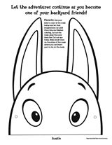 Backyardigans Character Mask: Austin (Halloween Printable) - TeacherVision.com