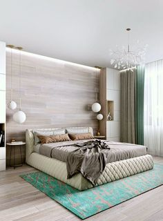 A smart, well-planned bedroom layout is key to a thousand and one nights of good sleep. Take a look at what can't be missing! layout Bedroom layout: what can't be missing Modern Bedroom Design, Master Bedroom Design, Home Bedroom, Bedroom Decor, Luxury Rooms, Luxurious Bedrooms, Small Space Interior Design, Interior Design Living Room, Cama Queen Size