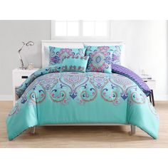 Vcny Home Amherst Reversible Twin Xl Comforter Set Bedding King Comforter Sets, Bedding Sets, Red Comforter, Boho Comforters, Bunk Beds With Drawers, Ruffle Bedding, Crib Bedding, Quilt Sets, Luxury Bedding