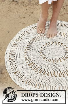 Ravelry: 178-37 Radiant pattern by DROPS design--rug