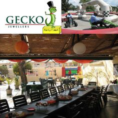 Gecko Coffee Shop & Party Venue in Midrand offers a unique experience of a gemstone mine tour. They also have a fabulous coffee shop to enjoy a meal while the kids search in the scratch patch for fabulous gems or chase each other around the race track with pedal cars.  . . . . #gemstones #geckoparties #geckojewellers #geckogems #kidspartyvenues #minetour #uniqueexperience #pedalcars #playground #kidsparties #outings #kidsfun