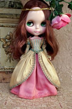 For Chrissy ≈ Renaissance ≈ | Blythe clothes for dolls : tutorial : Kikihalb ♧ Forest~Tales ♧