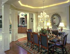 rooms with wood molding | ... wood panels, Plaster Moldings, Polaris, Powell, Upper Arlington