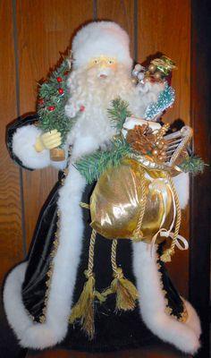 Santa Claus Christmas Tree Topper - Saint Nick